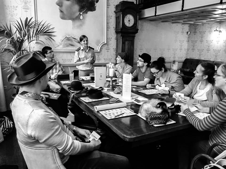 Teambuilding Bratislava - Mystery Dinner